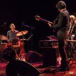 Philippe Bayle trio : Frédéric Sicart, Philippe Bayle, Philippe Laccarrière, Soirée Cabaret JAZZ360, Cénac, 18 mars 2017