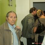 Jean-Marc Constantin, ancien élu et archiviste de la Commune de Cénac. Gîte d'étape de Citon-Cénac. 01/10/2010