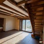 Propriété Coux-et-Bigaroque cuisine, séjour, 3 chambres, 1SdB, 1SdE, sous-sol, grange, piscine