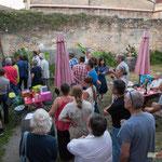 Remerciements et nouvelle mobilisation des militant-es. Q.G. de la France insoumise, 12ème circonscription de la Gironde. Premier tour des élections législatives, 11 juin 2017, Langoiran