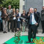 Philippe Madrelle, Sénateur, Président du Conseil général. Inauguration du gîte d'étape de Citon-Cénac. 01/10/2010