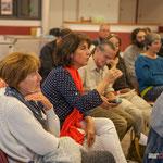 Question sur l'écologie, et la Distillerie de Saint-Genès-de-Lombaud. Réunion publique des Insoumis de la 12ème circonscription, 6 juin 2017, Sadirac