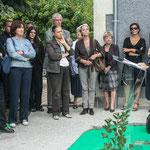 Bernard Cuartero, Président de la CDC des Portes de l'Entre-Deux-Mers. Inauguration du gîte d'étape de Citon-Cénac. 01/10/2010