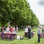 Pique-nique des Insoumis de la 12ème circonscription de la Gironde, 4 juin 2017, Esplanade Josselin, le Tourne