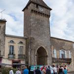 Permanence mobile la France insoumise / Réunion de place du Général de Gaulle, Porte de l'Horloge, Saint-Macaire le 9 juin 2017
