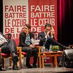 2 Applaudissements nourris pour Pascal Lafargue, Président d'Emmaüs Gironde. #benoirhamon2017