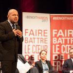 Matthieu Rouveyre, Vice-président du Conseil départemental de la Gironde, Conseiller municipal de Bordeaux. 2 #benoithamon2017