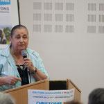 Soutien de Martine Faure, Députée sortante de la 12ème circonscription de la Gironde. Rassemblement de la gauche, Mairie de Créon, 14 juin 2017