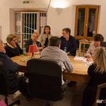 Réunion de trois groupes de réflexion, les Insoumis de la 12ème circonscription, pour préparer la prochaine campagne des législatives, Langoiran, 4 mai 2017