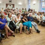 """Réunion publique """"Rassemblement de la gauche"""", salle citoyenne, Mairie de Créon, 14 juin 2017"""