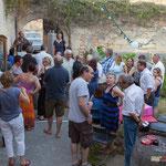Les résultats ne sont pas encore arrêtés. Q.G. de la France insoumise, 12ème circonscription de la Gironde. Premier tour des élections législatives, 11 juin 2017, Langoiran