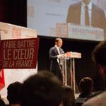 """""""Faire battre le cœur de la France"""". #benoithamon2017"""