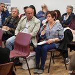 Réunion publique intercommunale du groupe d'appui local de l'Entre-Deux-Mers de la France Insoumise. 18 avril 2017, Créon