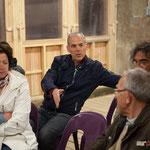 Lionel Chollon, Maire de Loupiac. Réunion publique intercommunale du groupe d'appui local de l'Entre-Deux-Mers de la France Insoumise. 14 avril 2017, Le Tourne