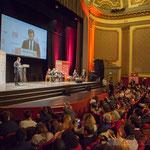 Benoît Hamon, candidat à la présidentielle, Conseiller régional d'Île-de-France, député de la 11ème circonscription des Yvelines, théâtre Fémina, Bordeaux. #benoithamon2017