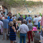 Christophe Miqueu confirme le résultat. Q.G. de la France insoumise, 12ème circonscription de la Gironde. Premier tour des élections législatives, 11 juin 2017, Langoiran