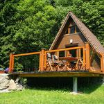Finnhütte von außen