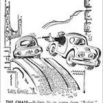 LA Times cartoon, January 13, 1969. Artist: Eddie Ronan