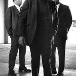 """Steve McQueen, Robert Vaughn in """"Bullitt."""""""