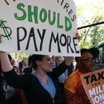 「億万長者はもっと払うべき」