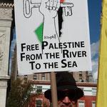 「パレスチナ解放を (ヨルダン)川から(地中)海まで」