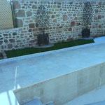 13 Avril aménagement exterieur de la piscine