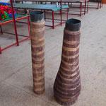натуральная светодиодная пальма