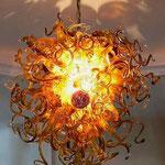 светодиодные люстры (мурановское стекло)
