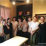 卒業前も卒業後も奈良のBaliLabo主催で講座を何度もお招き頂いています