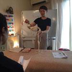 骨格模型で姿勢を学びます