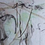 Encre et aquarelle  50x65cm