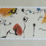 Aquarelle sur papier chinois vendu