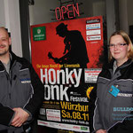 Einlasskontrolle, 08.11.2014, Honky Tonk Festival Würzburg