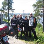 Con i motociclisti di Domodossola