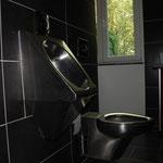 Edelstahl Urinal und WC