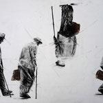 42,0 x 59,4 cm | Pastell | Bleistift