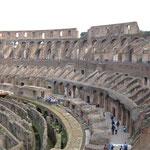 Колизей внутри - амфитеатр для гладиаторских боев
