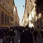 Улица Кондотти - для тех, кто любит шоппинг!