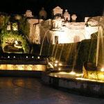 Вилла d'Este поражает своими фонтанами (Тиволи)