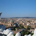 """Вид на Рим с крыши """"Викториана"""""""