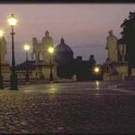 Красива Капитолийская площадь в вечернем освещении!