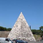 Пирамида гая Цестия в Риме