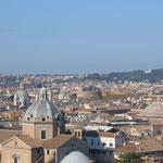 Вид на Рим с обзорной площадки