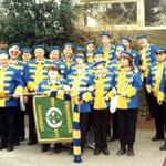 1990 - Premiere in Blau - Gelb (Karneval)