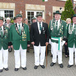 Ehrungen verdienter Schützenbrüder 2010 für Verdienste im BSV Füchtorf