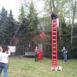 Das Kistenstapeln der Ehrengarde Füchtorf