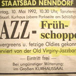 10. Mai 1992, Bad Nenndorf im Kursaal