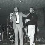 Konzert mit Huub Janssen und Bert Boeren von der DSCB, Dez. 1986