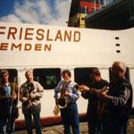 """""""Hafenkonzert"""" in Emden nach der Rückkehr vom Borkum-Jazz-Festival"""