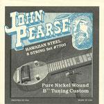 John Pearse Pure Nickel Lap Steel